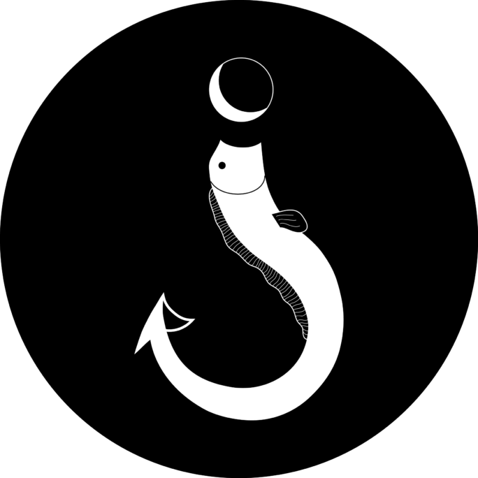logo à l'ancre noire
