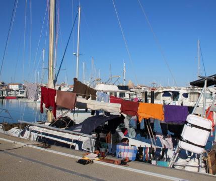 lessive au port